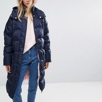 Whistles Longline Padded Coat at asos.com