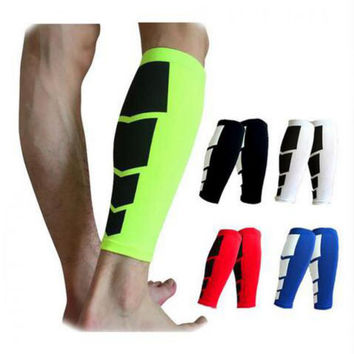 1 Pair Shin Guards Soccer Football Protective Leg Calf Compression Sleeves Cycling Running Sports Safety shinguards HBK102
