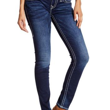 VONE7S True Religion | Skinny Big T Flap Pocket Jean | Nordstrom Rack