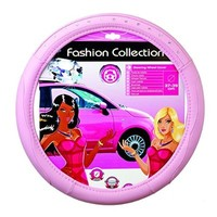 CAR+ FVP1205 Pink Bling-Bling Steering Wheel Cover