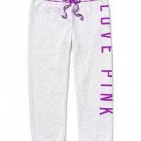 Signature Crop Pant - PINK - Victoria's Secret