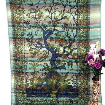Tree of life tapestry,tapestry,wall hanging,table cloth wall tapestries,tapestries,hippie tapestries,indian tapestries,wall art