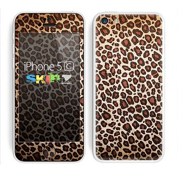 The Vibrant Cheetah Animal Print V3 Skin for the Apple iPhone 5c