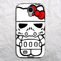 Hello Kitty Star Wars Samsung Galaxy S4 Case