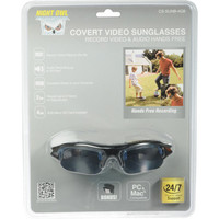 Covert Video Sunglasses with a 4 GB microSD Card