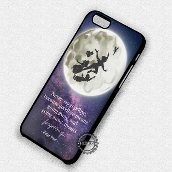 Goodbye Peter Pan - iPhone 7 6 Plus 5c 5s SE Cases & Covers