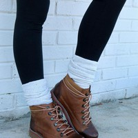Top Rank Brown Lace Up Ankle Boot With Heavy Tread