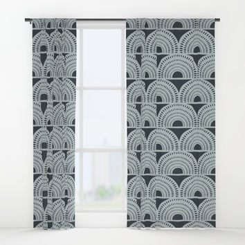 Aurora Window Curtains by heatherduttonhangtightstudio