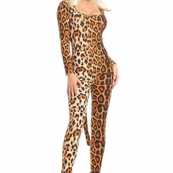 Be Wicked Costume 3 Piece LOVEABLE LEOPARD