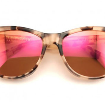 Wildfox - Catfarer Deluxe Antique Leaves Sunglasses