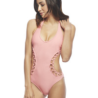 Knotted Push Up Monokini | Wet Seal