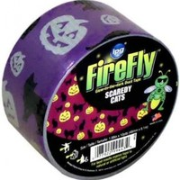 Intertape Polymer Group HPC30 1.88-Inch by 10-Yard Halloween Pumpkins and Cats Duct Tape