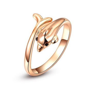 Gold Plated Trendy Fashion Rings