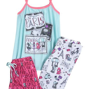 PARIS PUPPY PAJAMA SET | GIRLS SLEEPOVER SHOP NOW TRENDING | SHOP JUSTICE