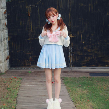 Bobon21 Pastel Sailor Dress