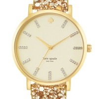 kate spade new york 'metro grand' boxed watch set