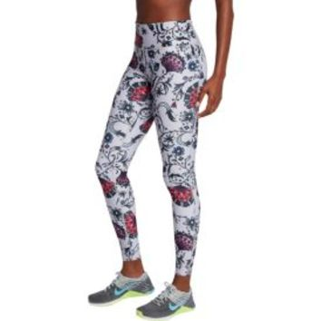 Nike Women's Power Legend Floral Printed Tights | DICK'S Sporting Goods