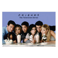 Friends Milkshakes Poster
