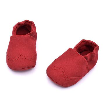 Baby First Walkers Little Boys Girls Moccasin Soft Sole Shoes Infant Warm walkers Boots