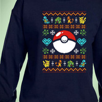 Pokemon Pokeball Christmas Unisex Sweatshirts | digitalprintCustom.com