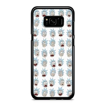 Rick And Morty - Ricks Face Samsung Galaxy S8 Case