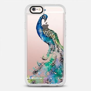 Elegant Peacock iPhone 6s case by Carla James © | Casetify