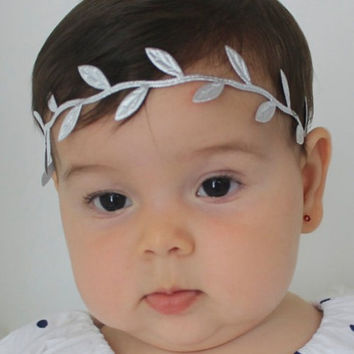 Greek Goddess Silver Headband