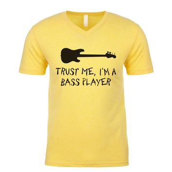 Keep Calm I'm The Bassist Men's V Neck