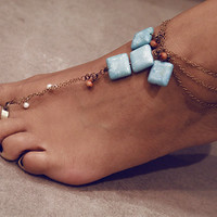 Haati Chai Mala Toe Ring-Anklet