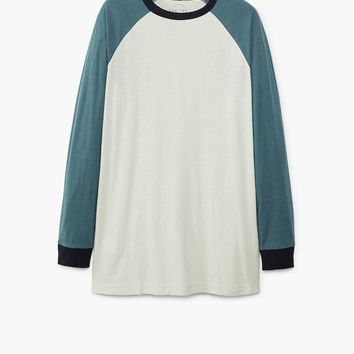 Raglan sleeve t-shirt - Man | MANGO Man United Kingdom
