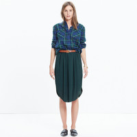 Island Midi Skirt in Dark Spruce