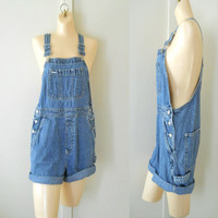 Women Overalls Denim Overall Shorts Women Shortalls Salopette Women Dungarees Short Dungarees Denim Shortalls Denim Bib Overalls Romper 90s