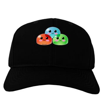 Cute RPG Slime - Trio Adult Dark Baseball Cap Hat by TooLoud