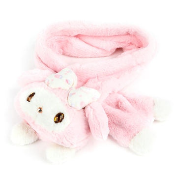 My Melody Die-Cut Pull Through Scarf: Rose Bow