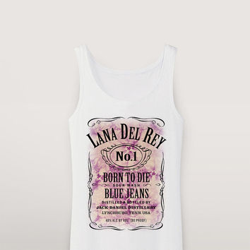 Personalized Jack-Daniels-Style Tank Top ( a00178 )