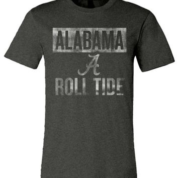 Official NCAA Venley University of Alabama Crimson Tide UA ROLL TIDE! Unisex T-Shirt - 38AL-1
