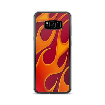 Hot Rod Flame Red Samsung Case