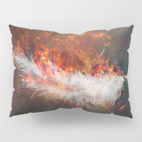 Icarus Pillow Sham by HappyMelvin