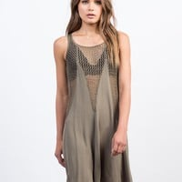 Flowy Netted Day Dress