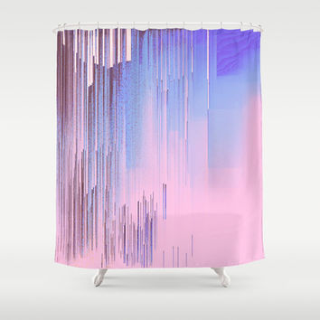 Quiet Inspiration Shower Curtain by Ducky B