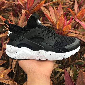 DCCKGV7 Best Online Sale Nike Air Huarache 4 Rainbow Ultra Breathe Men Women Hurache Black/White Running Sport Casual Shoes Sneakers - 116
