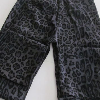 Cheetah Print Pants No Boundaries Low Rise Pants Junior size 5 Back zip