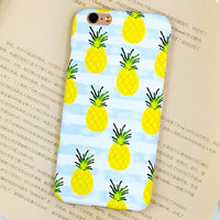 Summer Pineapple iPhone 6 6s iPhone 6 6s Plus Case Originality Cover + Gift Box 416