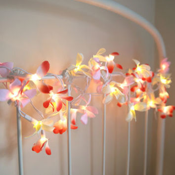 Frangipani Flower Light Garland