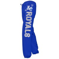 Kansas City Royals - Glitter Logo Girls Youth Capris Sweatpants - Youth