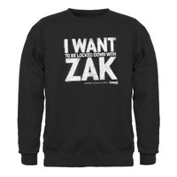 Locked Down Sweatshirt (dark)> Locked Down WIth Zak> Ghost Adventures T-Shirts & Merchandise