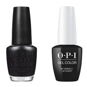 OPI - Gel & Lacquer Combo - My Gondola or Yours