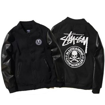 Stussy Winter Embroidery Camouflage Print Thicken Jacket [103857913868]
