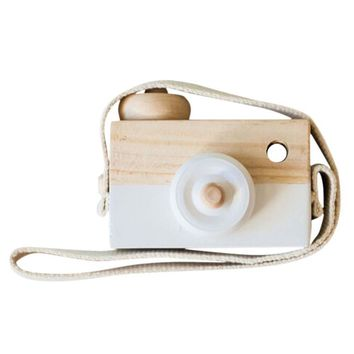 5colors Childrens Wooden Camera Kids cool travel Mini toy Baby cute Safe Natural Birthday Gift decoration Children's Room