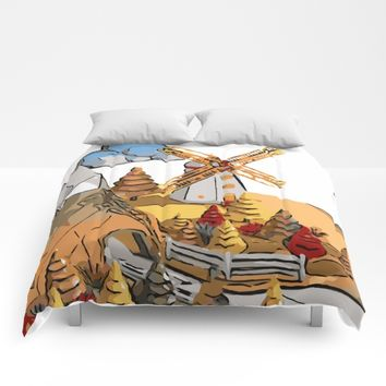 Landscape Comforters by Taoteching / C4Dart